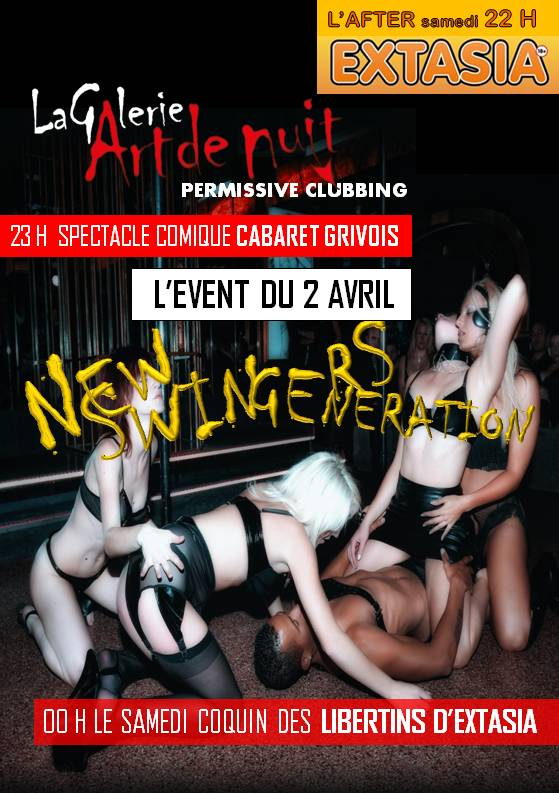 L'AFTER D'EXTASIA + SOIREE SPECTACLE cabaret GRIVOIS